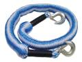 Tow Rope Expanding 4m Metal Hooks 3 Tonnes
