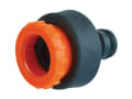 Plastic Tap Hose Connector 1/2 & 3/4in