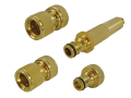 Brass Nozzle & Fittings Kit 4 Piece 12.5mm (1/2in)