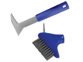 Auto-Lock Patio Steel Brush & Weeder