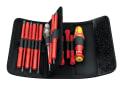 Kraftform VDE Kompakt Interchangeable Screwdriver Set, 18 Piece