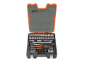 S800 Socket Set of 77 Metric & AF 1/4 & 1/2in Drive
