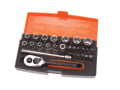 SL25 Socket Set of 25 Metric 1/4in Drive