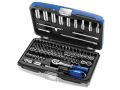 Socket & Accessory Set of 73 A/F & Metric 1/4in Drive