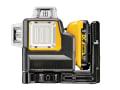 DCE089D1G Self-Levelling Green Multi Line Laser 12V 1 x 2.0Ah Li-ion