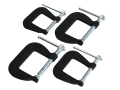 Forged Mini Clamp Set, 4 Piece