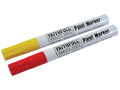 Paint Marker Pen Yellow & Red (Pack of 2)