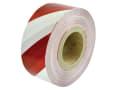 Heavy-Duty Barrier Tape Red & White 70mm x 250m