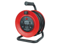 Open Drum Cable Reel 240 Volt 25 Metre 13 Amp 2 Socket