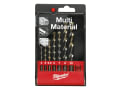 Multi Material Drill Set, 7 Piece
