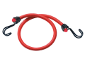 Twin Wire Bungee Cord 60cm Red 2 Piece