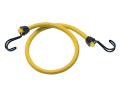 Twin Wire Bungee Cord 100cm Yellow 2 Piece