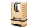 Excell™ Closed Shackle Brass Combination Padlock 58mm