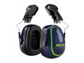 MX-7 30mm Euro Slot Helmet Mounted Earmuffs SNR 31 dB