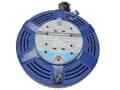 Cassette Cable Reel 15 Metre 4 Socket Thermal Cut-Out Blue 10A 240 Volt