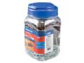 Brown UNO® Plugs & Screws in Jar (450 Plugs + 450 Screws)