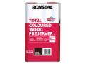 Trade Total Wood Preserver Dark Brown 5 litre