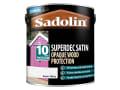Superdec Opaque Wood Protection Super White Satin 2.5 Litre