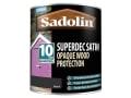 Superdec Opaque Wood Protection Black Satin 1 Litre
