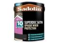 Superdec Opaque Wood Protection Black Satin 5 Litre