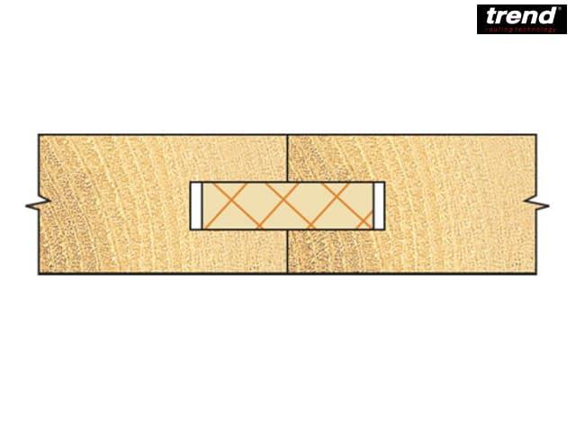 17.4mm Tungsten Carbide Tipped Straight Shank Reamer