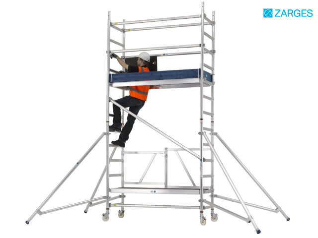 Reachmaster™ Tower Working Height     - www toolbank com