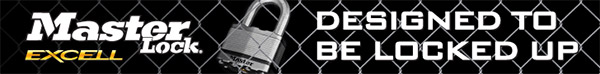 Master Lock Designed To Be Locked Up