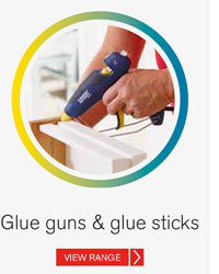 Rapid Glue guns & glue sticks