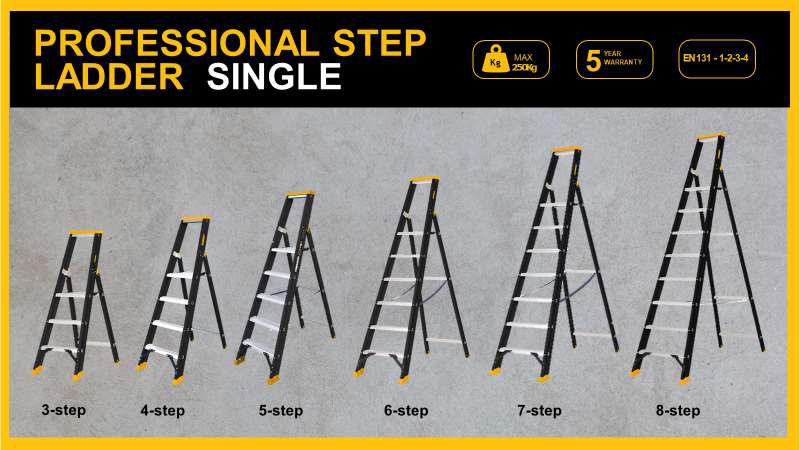 DWL Step Ladders - Single