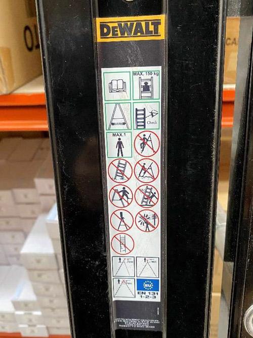 DWL Safety Label